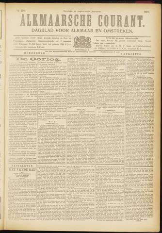 Alkmaarsche Courant 1917-08-02