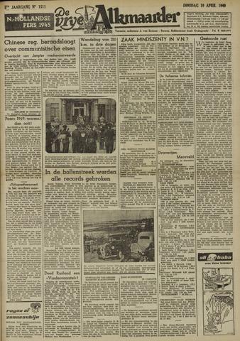 De Vrije Alkmaarder 1949-04-19
