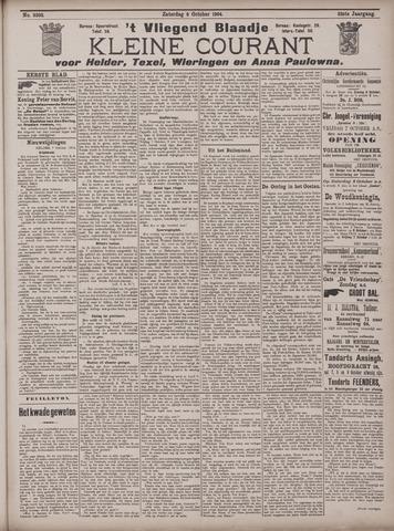 Vliegend blaadje : nieuws- en advertentiebode voor Den Helder 1904-10-08