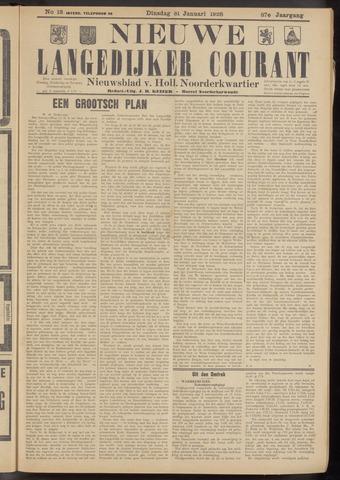Nieuwe Langedijker Courant 1928-01-31