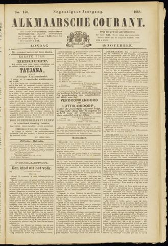 Alkmaarsche Courant 1888-11-18