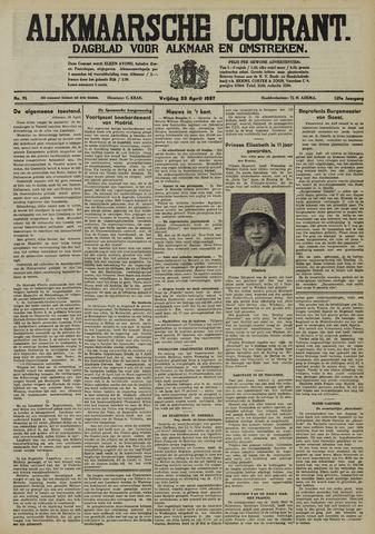 Alkmaarsche Courant 1937-04-23