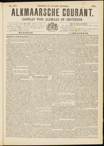 Alkmaarsche Courant 1905-09-04