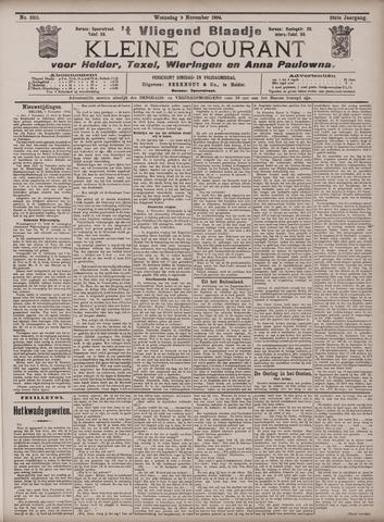 Vliegend blaadje : nieuws- en advertentiebode voor Den Helder 1904-11-09