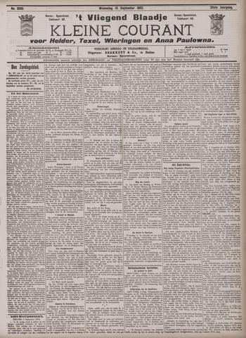 Vliegend blaadje : nieuws- en advertentiebode voor Den Helder 1902-09-10