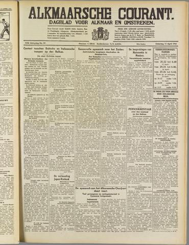 Alkmaarsche Courant 1941-04-12