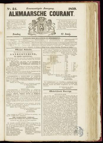Alkmaarsche Courant 1859-06-12