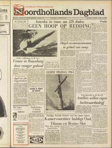 Noordhollands Dagblad : dagblad voor Alkmaar en omgeving 1963-04-12