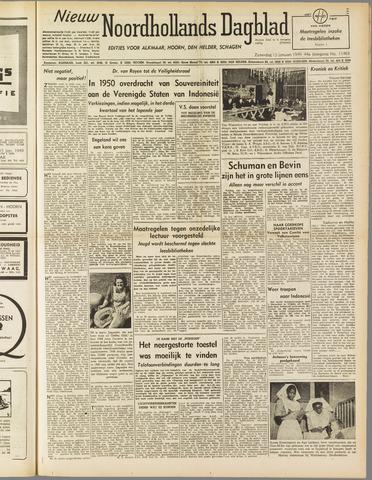 Nieuw Noordhollandsch Dagblad : voor Alkmaar en omgeving 1949-01-15