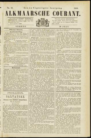 Alkmaarsche Courant 1889-07-26