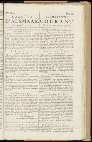Alkmaarsche Courant 1811-08-05