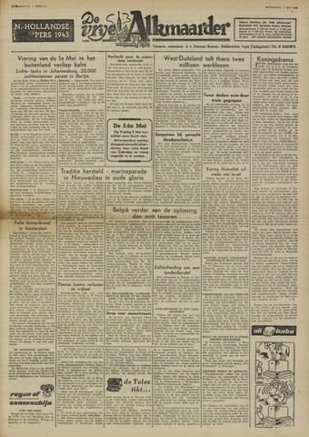 De Vrije Alkmaarder 1950-05-03