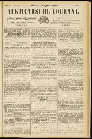 Alkmaarsche Courant 1903-05-15