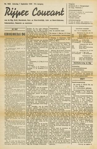 Rijper Courant 1946-09-07