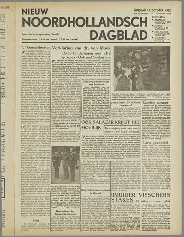 Nieuw Noordhollandsch Dagblad : voor Alkmaar en omgeving 1945-10-16
