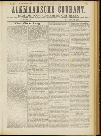 Alkmaarsche Courant 1915-09-11