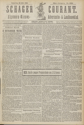 Schager Courant 1920-05-22