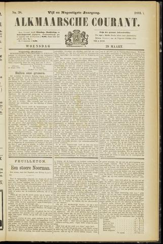 Alkmaarsche Courant 1893-03-29