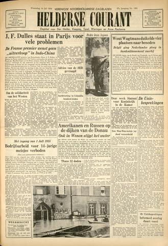 Heldersche Courant 1954-07-14