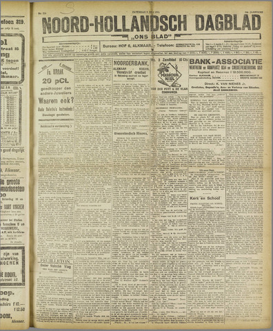 Ons Blad : katholiek nieuwsblad voor N-H 1921-07-09
