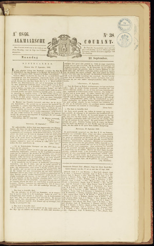 Alkmaarsche Courant 1846-09-21