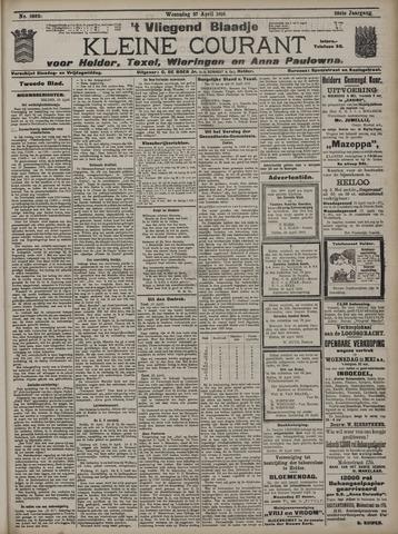 Vliegend blaadje : nieuws- en advertentiebode voor Den Helder 1910-04-27