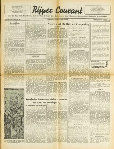 Rijper Courant 1949-11-25