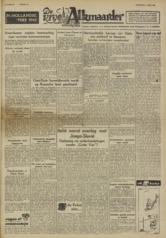 De Vrije Alkmaarder 1950-04-12