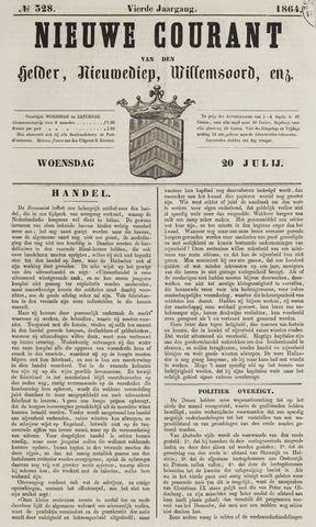 Nieuwe Courant van Den Helder 1864-07-20