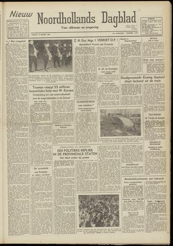 Nieuw Noordhollandsch Dagblad : voor Alkmaar en omgeving 1948-03-12