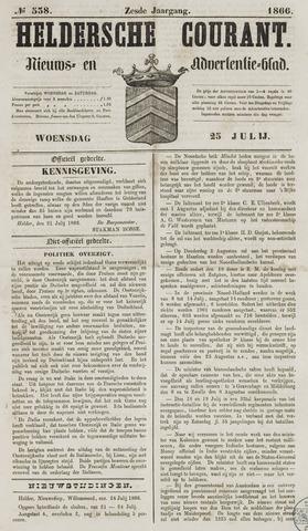 Heldersche Courant 1866-07-25