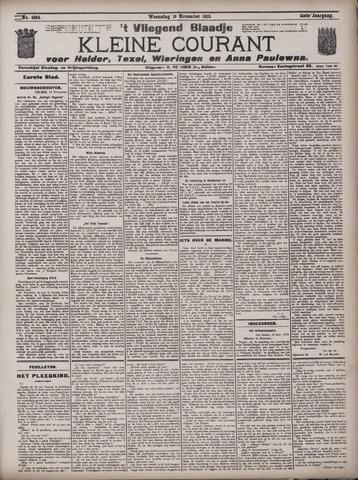 Vliegend blaadje : nieuws- en advertentiebode voor Den Helder 1913-11-19