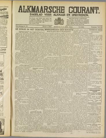 Alkmaarsche Courant 1941-07-09