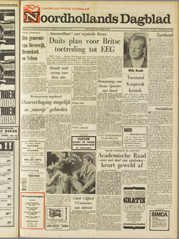 Noordhollands Dagblad : dagblad voor Alkmaar en omgeving 1968-01-20