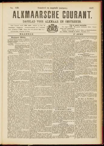 Alkmaarsche Courant 1907-06-17
