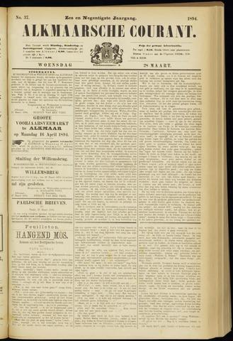 Alkmaarsche Courant 1894-03-28