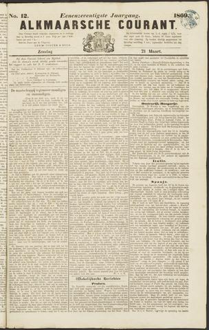 Alkmaarsche Courant 1869-03-21