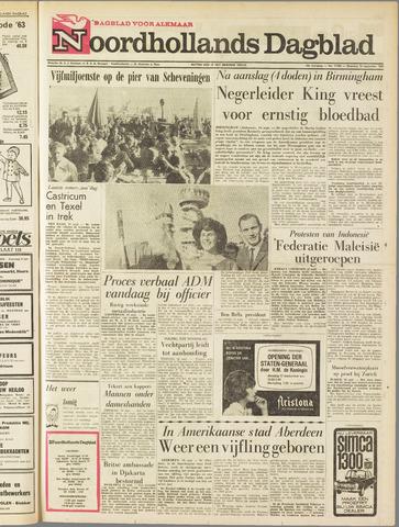 Noordhollands Dagblad : dagblad voor Alkmaar en omgeving 1963-09-16