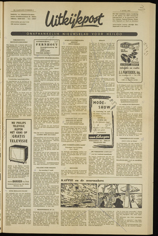 Uitkijkpost : nieuwsblad voor Heiloo e.o. 1961-04-06
