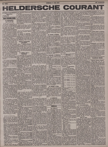 Heldersche Courant 1917-07-17