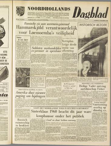 Noordhollands Dagblad : dagblad voor Alkmaar en omgeving 1960-12-03
