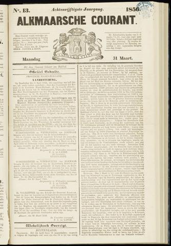 Alkmaarsche Courant 1856-03-31