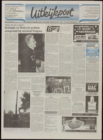 Uitkijkpost : nieuwsblad voor Heiloo e.o. 2001-11-28
