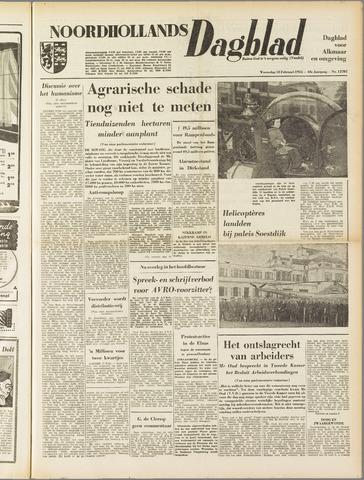 Noordhollands Dagblad : dagblad voor Alkmaar en omgeving 1953-02-18