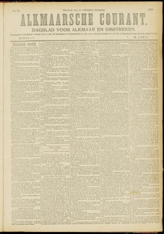 Alkmaarsche Courant 1919-04-22