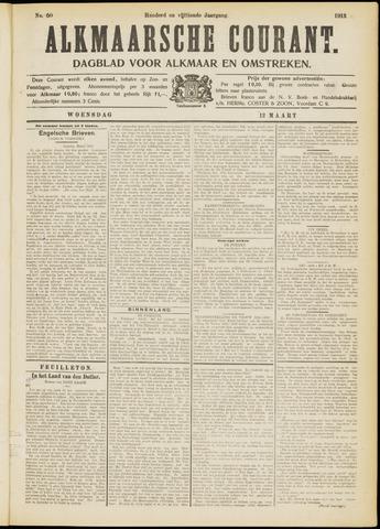 Alkmaarsche Courant 1913-03-12
