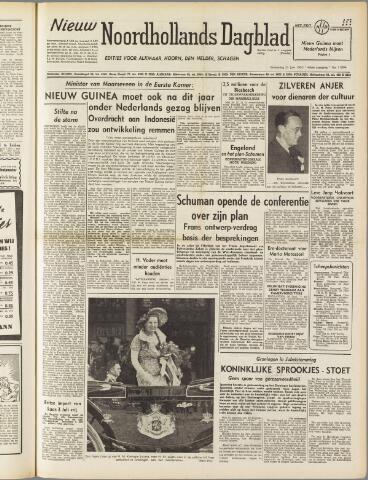 Nieuw Noordhollandsch Dagblad : voor Alkmaar en omgeving 1950-06-21