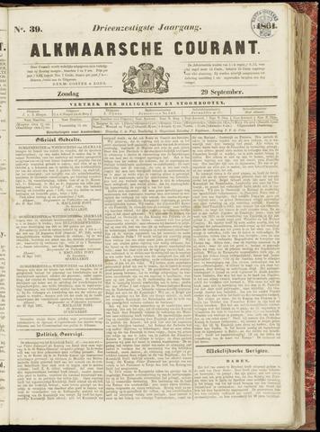 Alkmaarsche Courant 1861-09-29