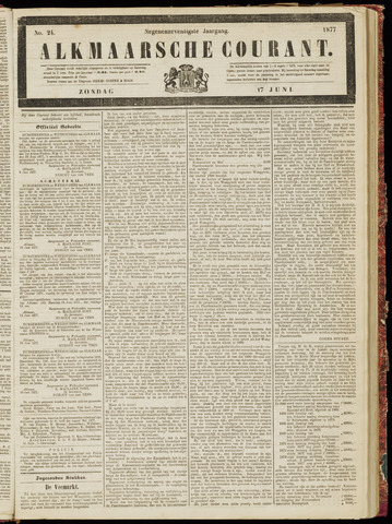 Alkmaarsche Courant 1877-06-17