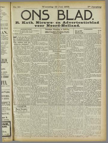 Ons Blad : katholiek nieuwsblad voor N-H 1909-06-23
